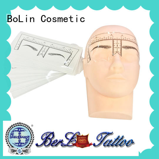 BoLin safe silicone practice skin blue for tattoo learners