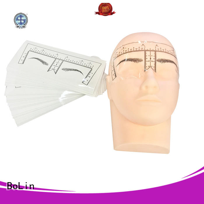 eyebrow measuring device rubber Bulk Buy eyebrow BoLin