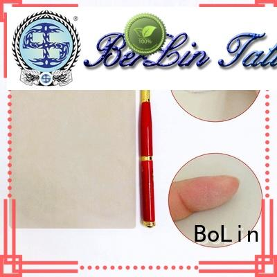 BoLin silicone tattoo skin promotion for beauty school