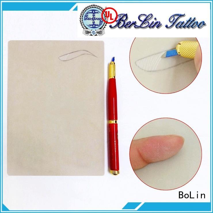 BoLin eyebrow measurement ruler manufacturer for artists