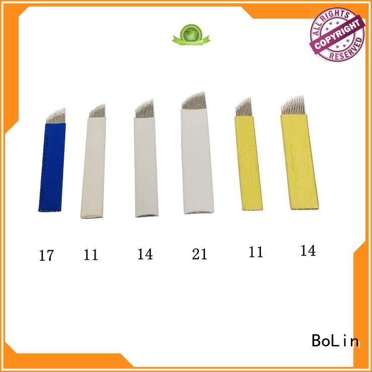 high quality eyebrow needle from China for beauty shop BoLin
