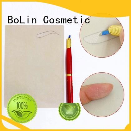 BoLin lightweight eyebrow measuring device carved for tattoo learners