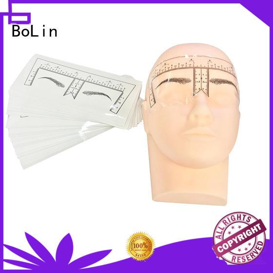 BoLin Brand blue eyebrow measuring device beginner supplier