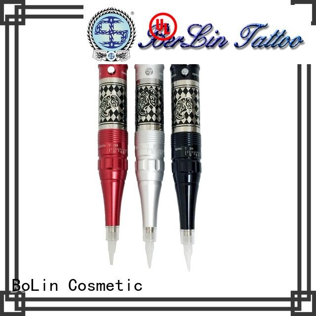 BoLin cosmetic rotary tattoo machine pen on sale for eyeliner