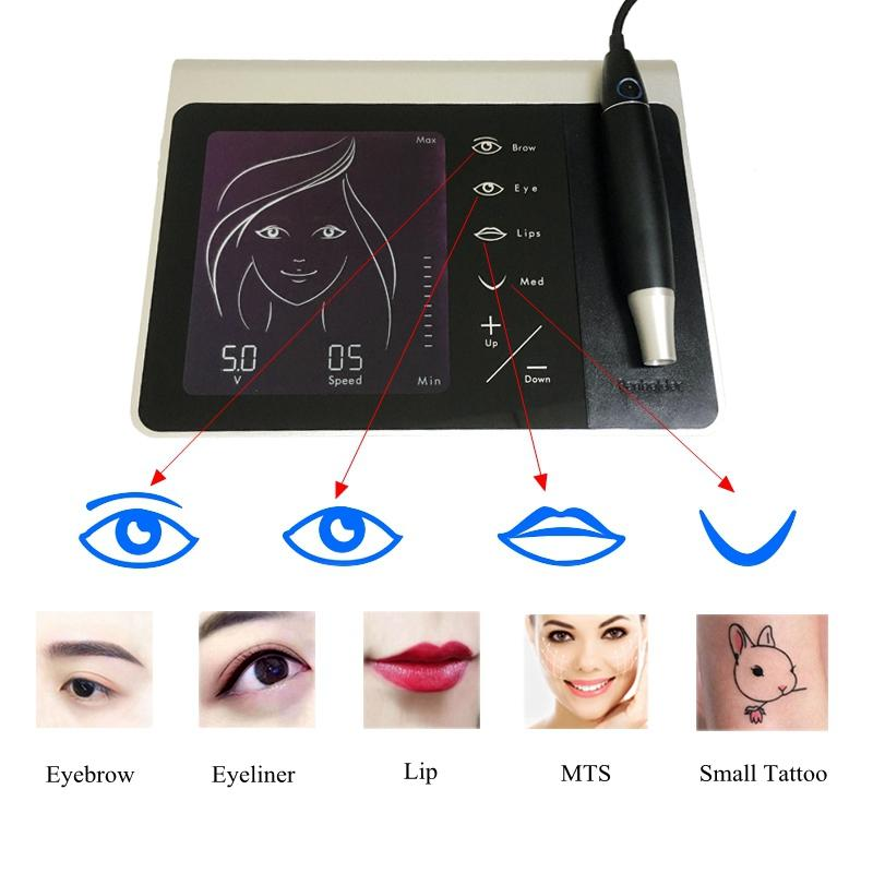 BoLin precise LCD Screen Permanent Makeup Machine directly price for lip