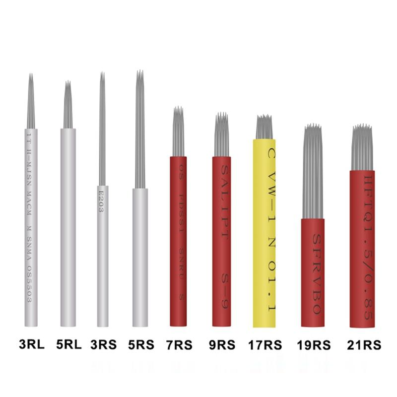Disposable Eyebrow Microblading Round Needles BL-00086
