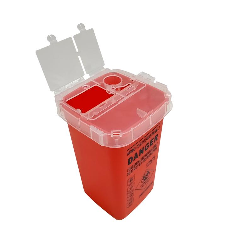 Plastic safety Sharps Waste Container BL-359
