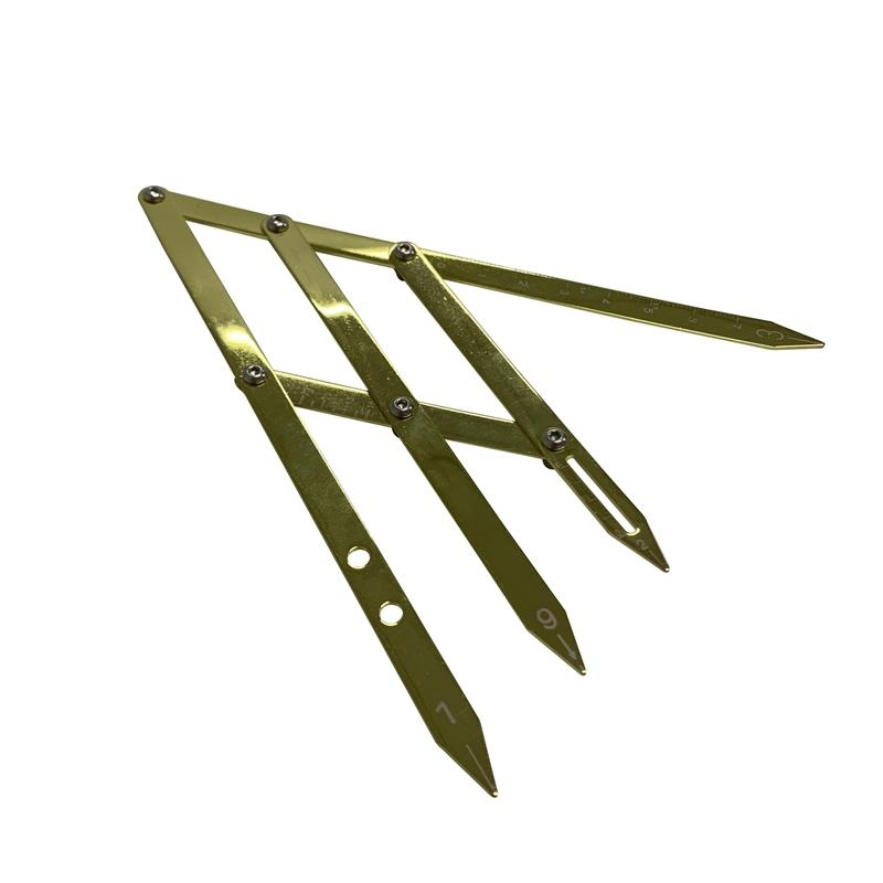 Stainless Steel Eyebrow Caliper Golden Ratio Eyebrow Divider BL-217