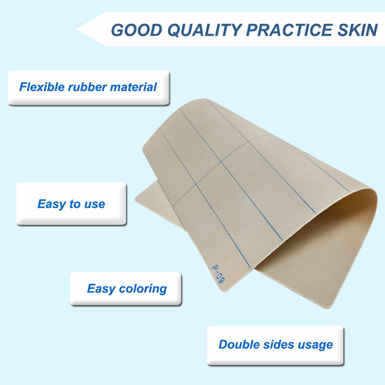 product-Eyebrow Microblading Practice Skin Rubber Without Ink BL-510-BoLin-img