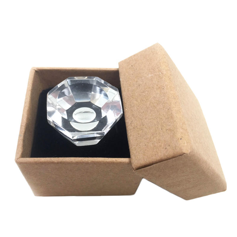 Microblading Accessories Clear Crystal Tattoo Ink Ring Cups