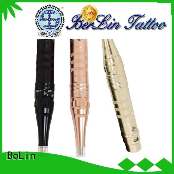 BoLin unique rotary tattoo machine pen promotion for lip