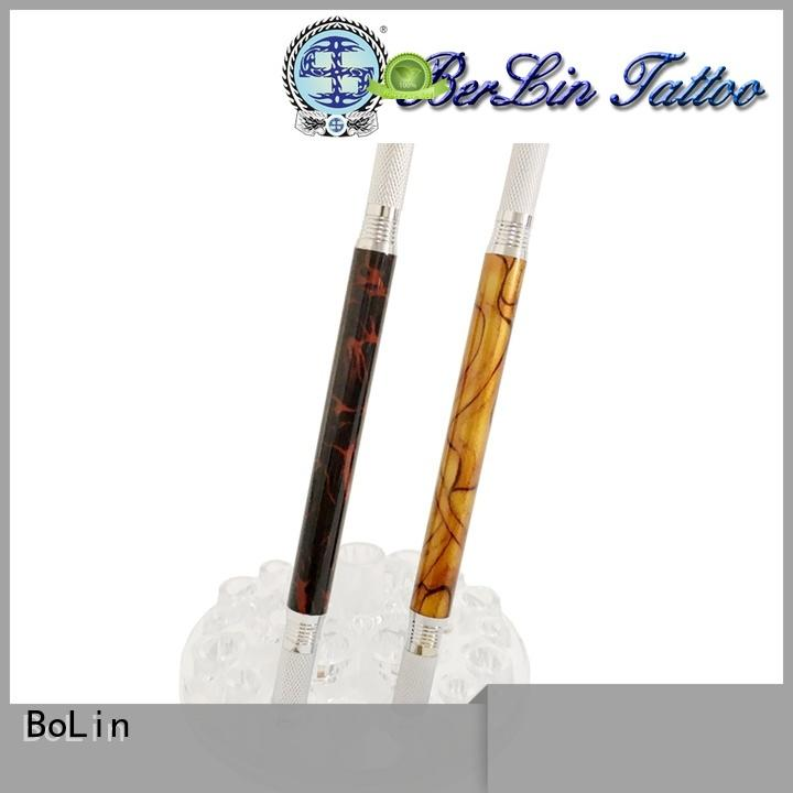 BoLin two manual eyebrow tattoo pen from China for salon