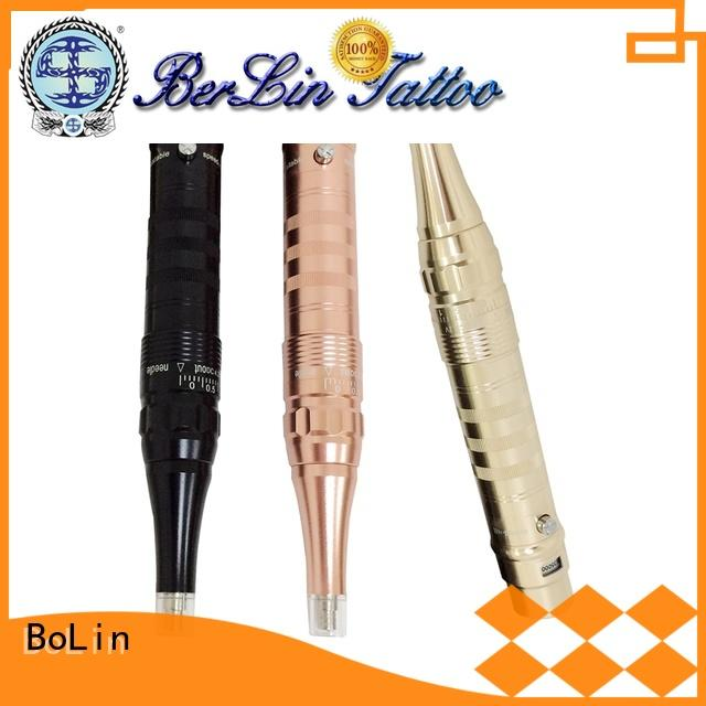 BoLin unique rotary tattoo machine pen promotion for makeup