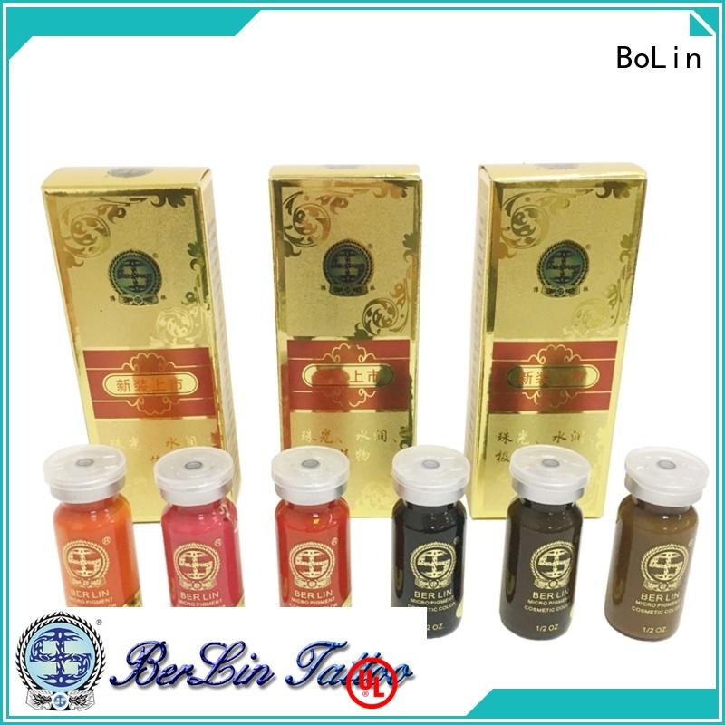 BoLin stable microblading pigments factory price for eyeliner