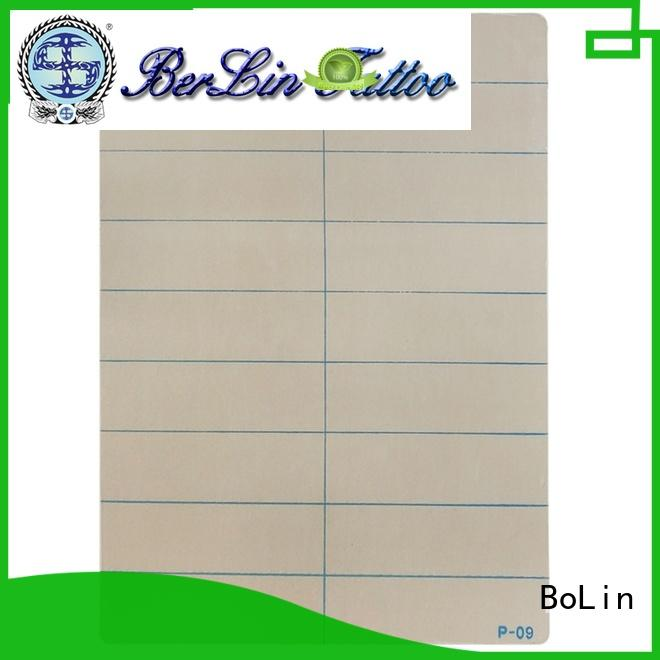 BoLin lightweight silicone tattoo skin directly price for tattoo learners