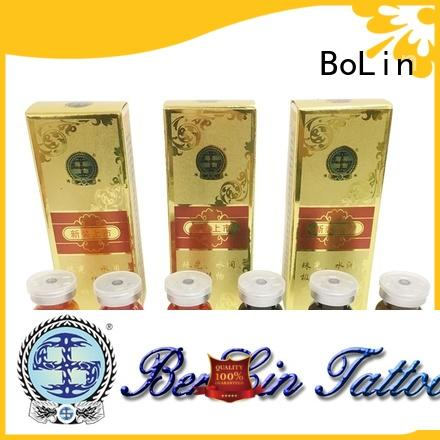 BoLin microblading pigments factory price for lip