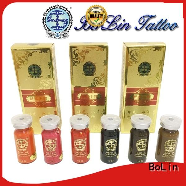BoLin healthy microblading pigments wholesale for lip