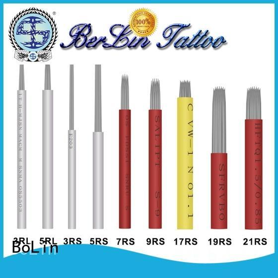 BoLin precise tattoo cartridges on sale for training school