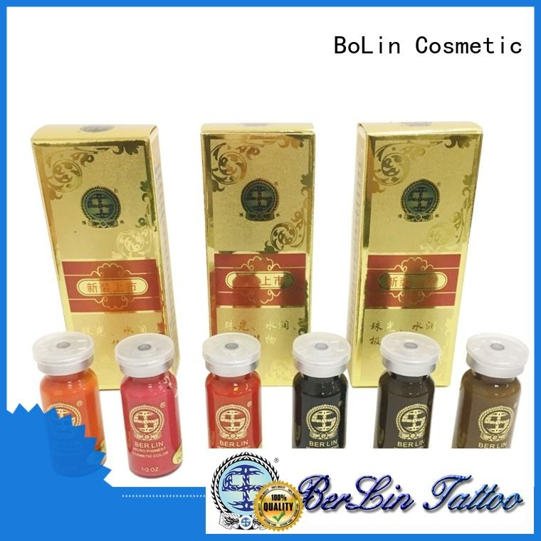 BoLin pure pigment powder manufacturer for lip