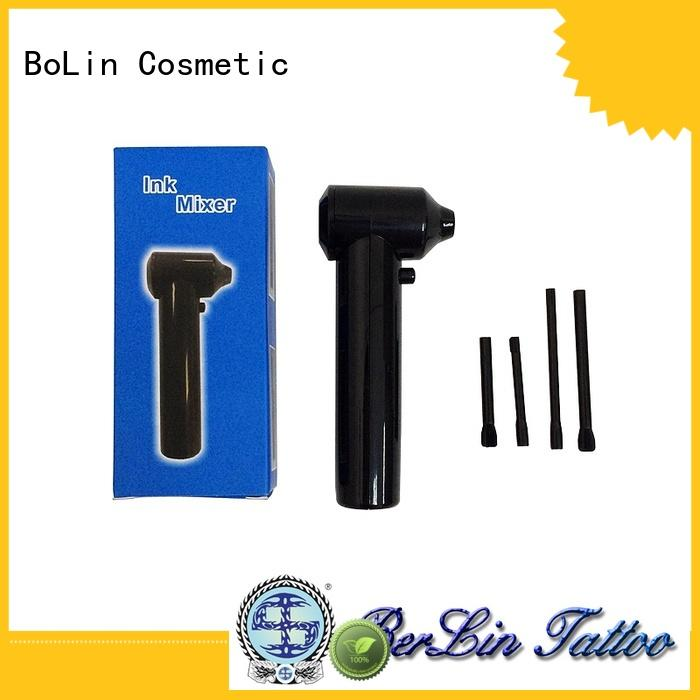 BoLin long lasting tattoo ink cups promotion for tattoo workshop