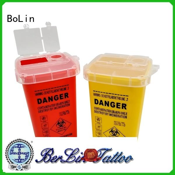 BoLin pigment tattoo ink cups directly price for tattoo workshop