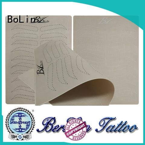 BoLin beginner tattoo practice skin promotion for beauty school
