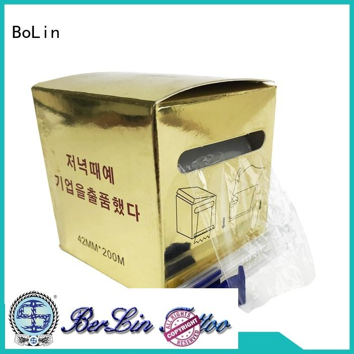 BoLin long lasting tattoo ink cups on sale for training school