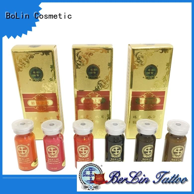 BoLin tattoo pigment powder online for MTS
