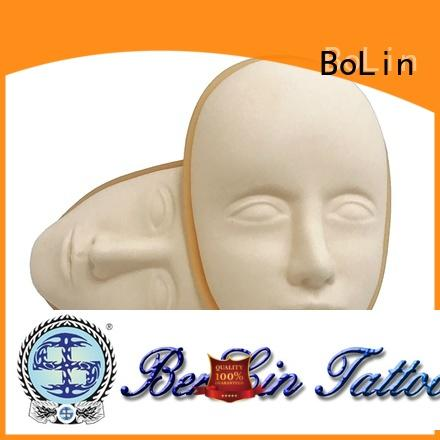 BoLin tattoo practice skin promotion for tattoo learners