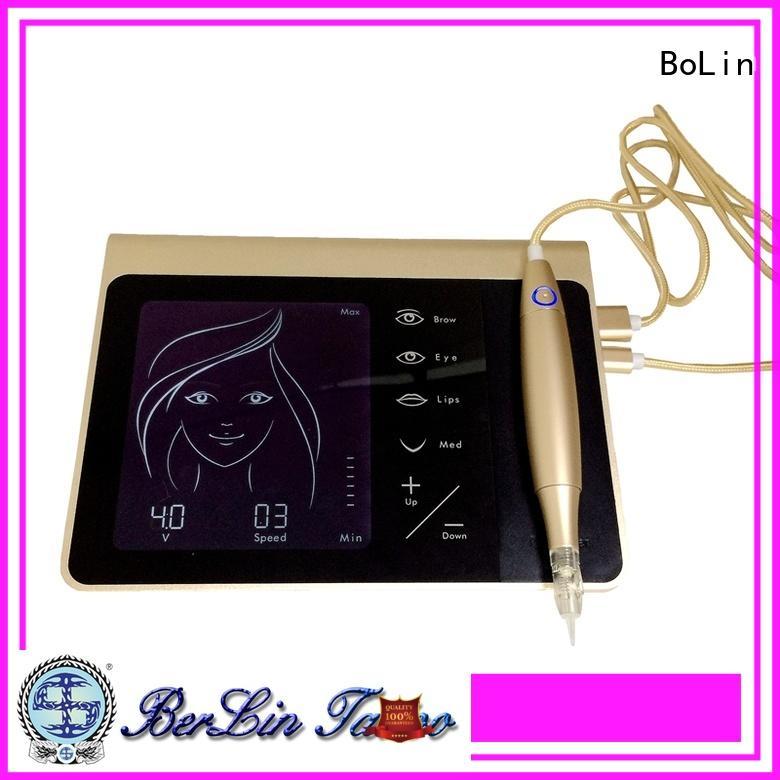 BoLin pen permanent makeup machine on sale for training school