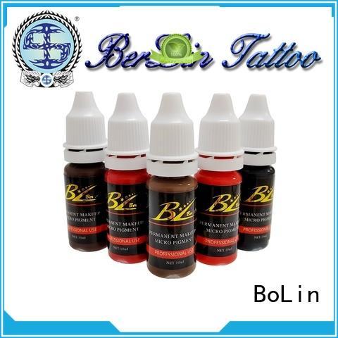 BoLin pigment makeup manufacturer for MTS