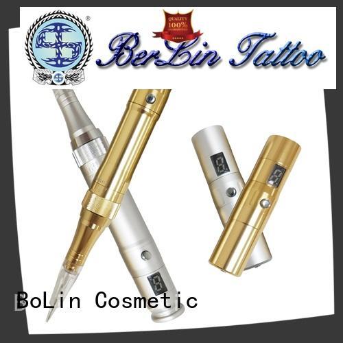 BoLin powerful permanent makeup tattoo machine on sale for tattoo workshop
